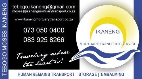 IKANENG MORTUARY TRANSPORT SERVICE ( Kimberley )