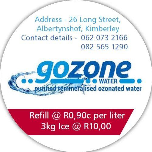 GOZONE WATER ( Kimberley )